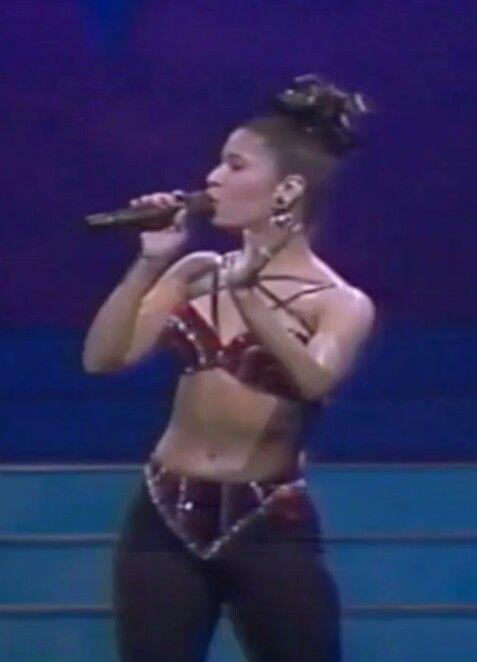1993 Tejano Music Award Show Selena Quintanilla Perez