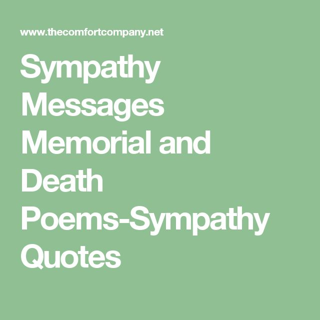 Sympathy Messages Memorial and Death Poems-Sympathy Quotes