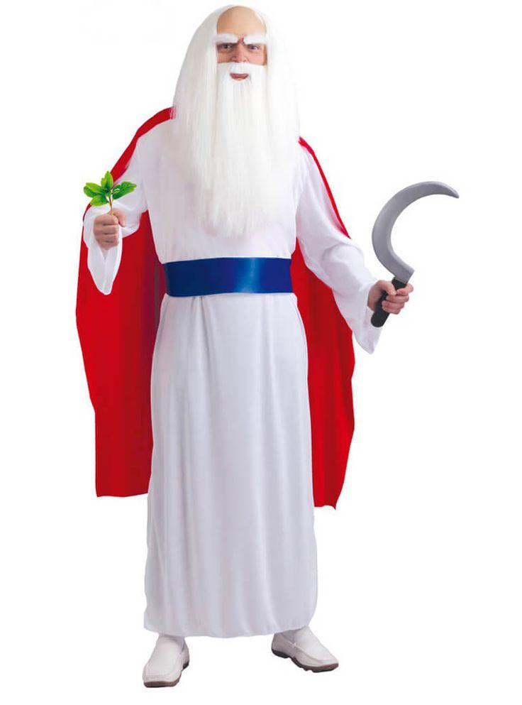 Disfraz de Druida hechicero para hombre | Comprar