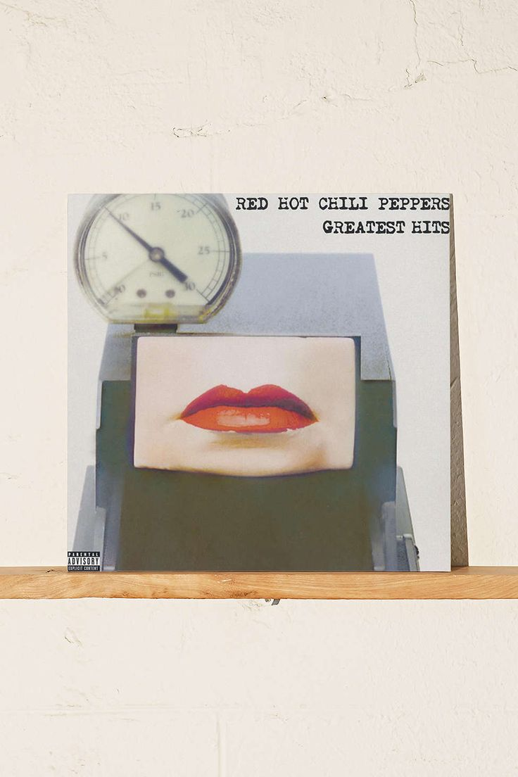 Red Hot Chili Peppers - Greatest Hits - 2 x 33 tours
