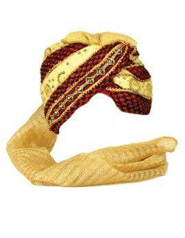 Sunshine Joy Pagri Safa Indian Wedding Turban Hat