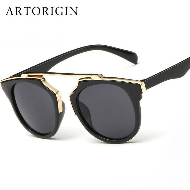 FashionBrand Designer Women Sunglasses Round Lens Cat Eye Mirror Sun Glasses Female Quality Oculos De Sol Feminino  #fashion #dress #instastyle #swag #model #instalike #sweet #glam #shopping #beautiful