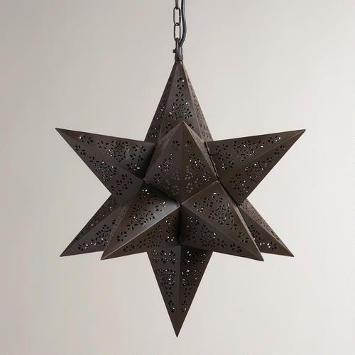 Moravian Star Hanging Pendant Lamp | World Market