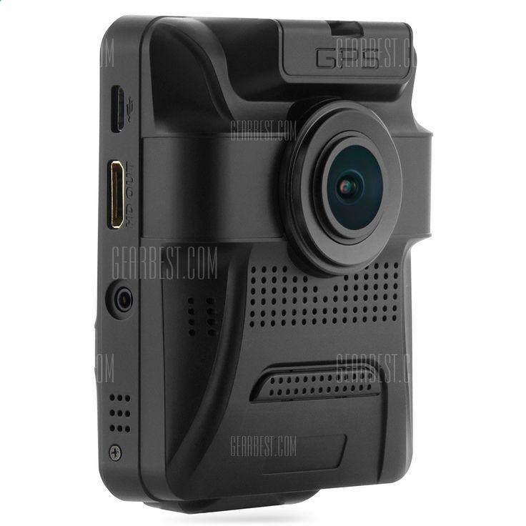 GS65H Car első hátsó kamera DVR-82,73 online vásárlás   GearBest.com
