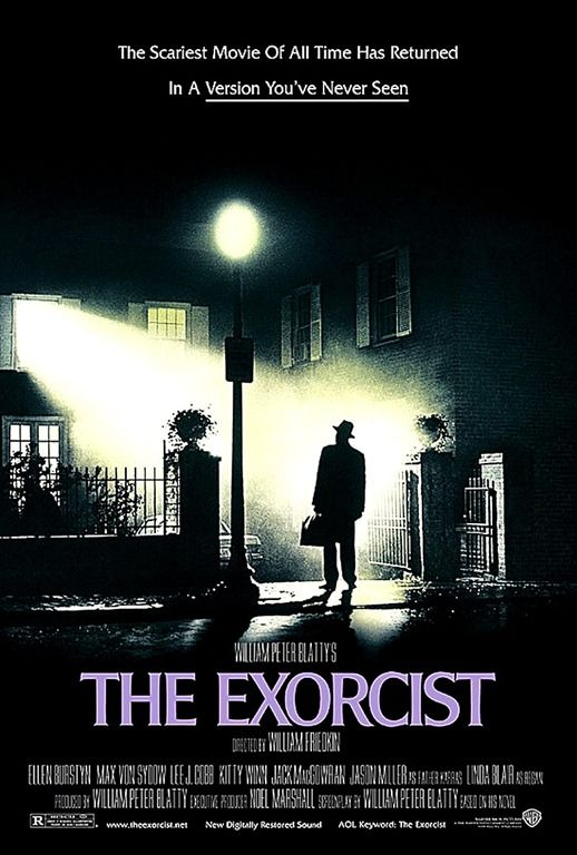 Classic poster from a classic film...  Many people say that this is the scariest film of all time.
