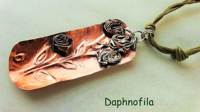 Τα daphnofila δημιουργούν: Ένα μπουκέτο με τριαντάφυλλα!!!