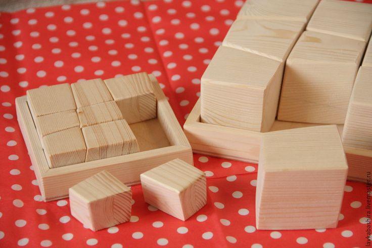 Купить Куби-иши головоломка 1 - кубики, кубики деревянные, авторская игрушка, оригинальные кубики