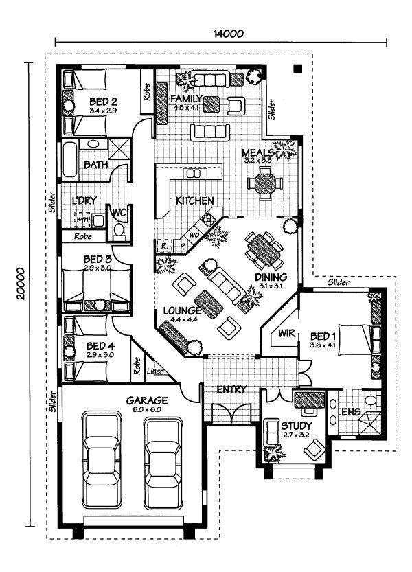 ideas about Australian House Plans on Pinterest   Floor       ideas about Australian House Plans on Pinterest   Floor Plans  House plans and Home Floor Plans
