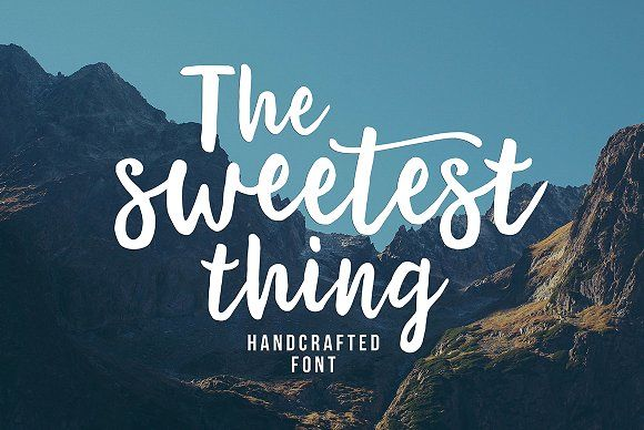 The Sweetest Thing by Seniors on @creativemarket