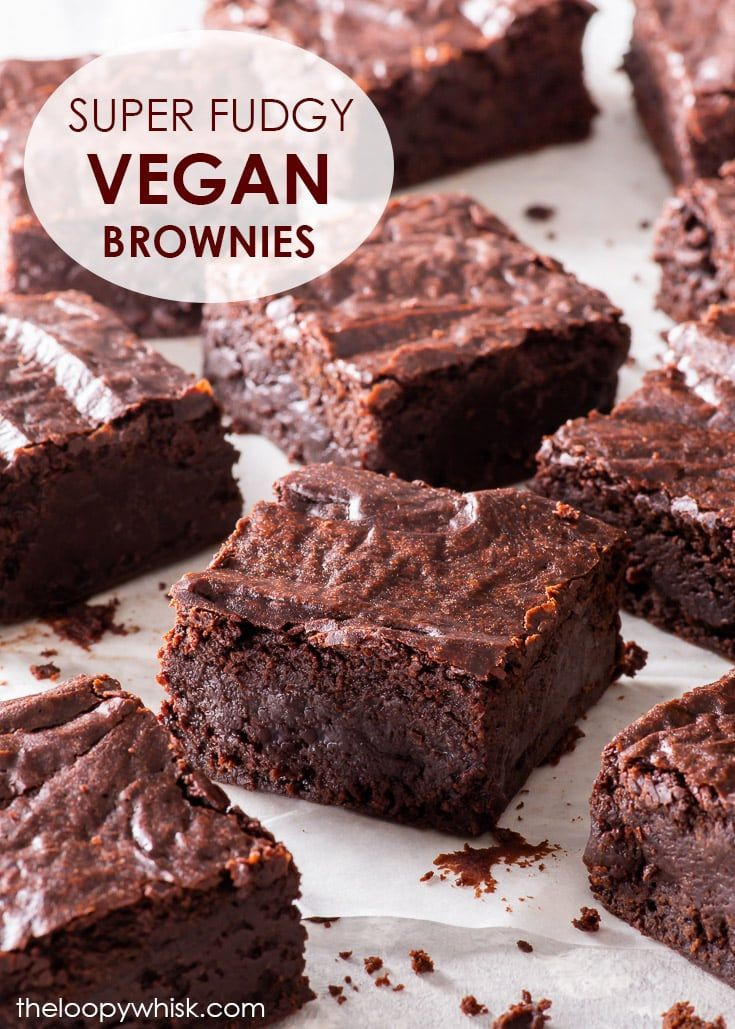 The Ultimate Fudgy Vegan Chocolate Brownies These Are The Best Vegan Brownies You Ll Ever Taste In 2020 Vegan Chocolate Brownies Vegan Brownie Fudgy Vegan Brownies