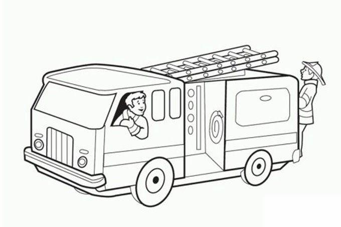 Resultat De Recherche D Images Pour تلوين سيارات شرطة Camion De Bomberos Imagenes De Bomberos Bomberos
