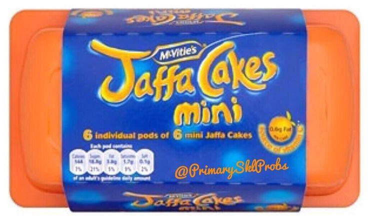 Mini Jaffa Cakes