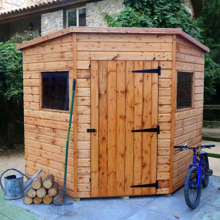 malvern bewdley corner shed - Corner Garden Sheds 8x8