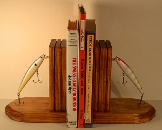 Fishing Lure Bookends