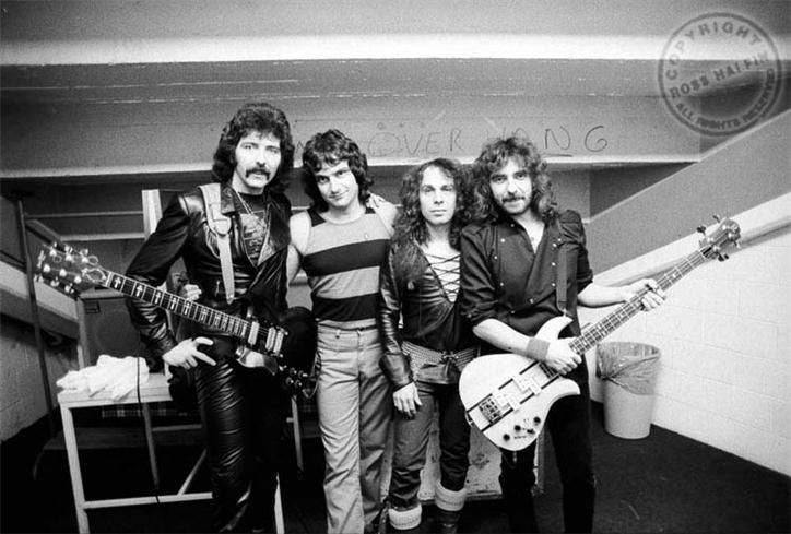 Black Sabbath – Mob Rules Tour 1981 by Ross Halfin.