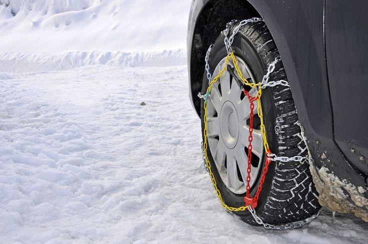 ¿Cómo colocar las cadenas para la nieve?
