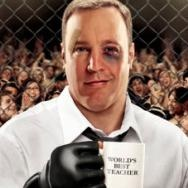 Here Comes The Boom starring Kevin James, Salma Hayek, & Henry Winkler.  A fun action-comedy!