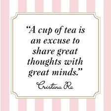 Go to my website, www.mysteepedteaparty.com/Atimefortea and check out some great tea, for great minds!