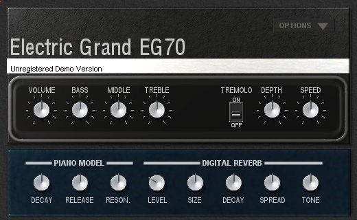 EG70 Electric Piano by Genuine Software and Instruments.
