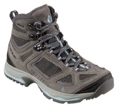 Vasque Breeze III GTX Gore-Tex Hiking Boots for Ladies - Gargoyle/Stone Blue - 8.5 M