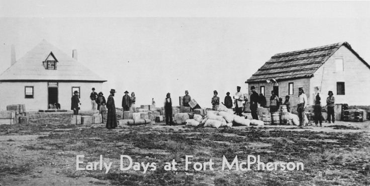 The Early Days at Fort McPherson - North West Territories