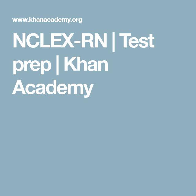 NCLEX-RN | Test prep | Khan Academy