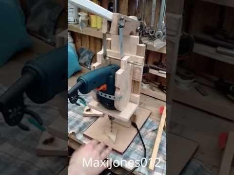 Soporte de taladro casero DIY - HOW TO DO - YouTube
