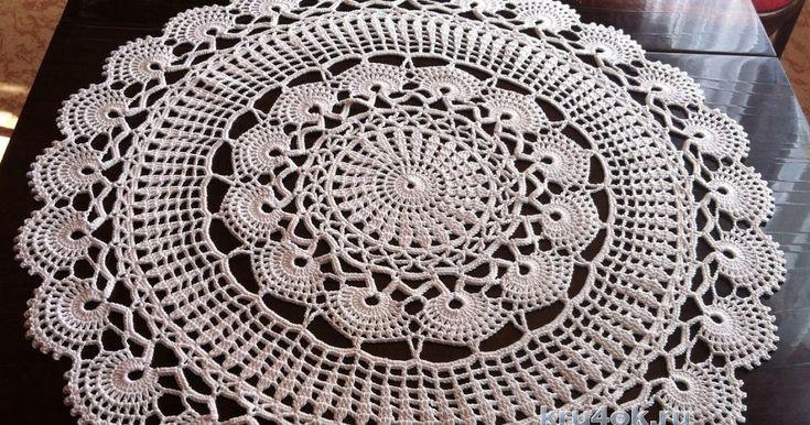 Crochet Doily + Diagram