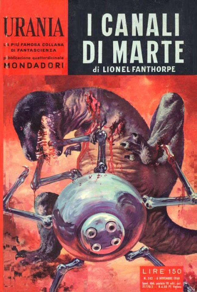 Urania #242 (1960-11-06) Arnoldo Mondadori Editore Karel Thole cover