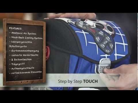 Step by Step touch Schulranzen Soccer II von Hama bei schulranzen.net.mp4 - YouTube