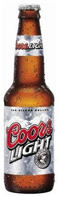 Cold Coors Light. I prefer Budweiser, but if you're running with Jeff and Jeni it's Coors after we're finished showing.