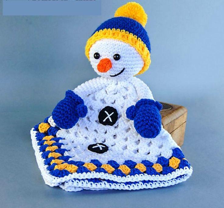 Les 25 meilleures id es concernant couette bonhomme de - Bonhomme de neige au crochet ...