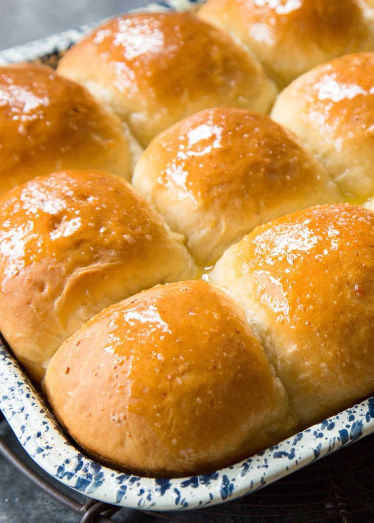 Potato rolls! So soft and fluffy. These are THE BEST dinner rolls ever. Perfect for Thanksgiving or for sandwich sliders.