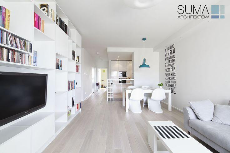 foorni.pl | Biały Apartament w Krakowie, projekt: SUMA ARCHITEKTÓW