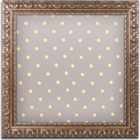 Trademark Fine Art English Garden Iii Canvas Art by Color Bakery, Gold Ornate Frame, Size: 11 x 11, Assorted