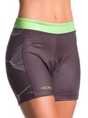 "Women's 5"" Triathlon Shorts in Gingko Design"