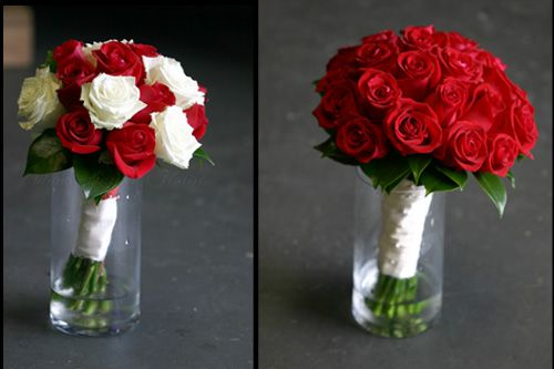 Red And White Wedding Flowers - Wedding Definition