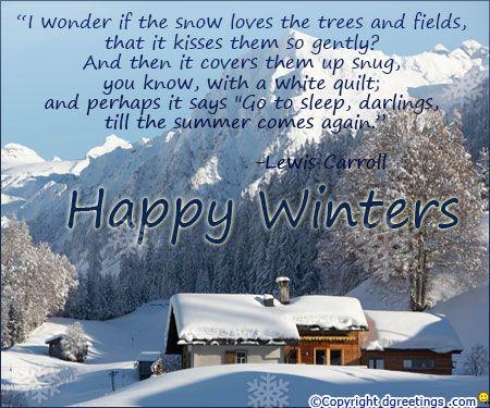 Happy winter..