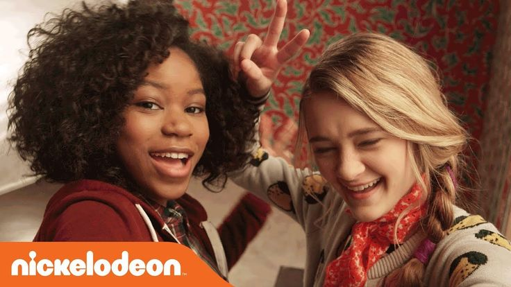 'Tiny Christmas'  Movie Bloopers w/ Riele Downs & Lizzy Greene | Nick