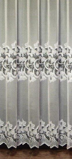 Függöny 125-973-05-0/74, fehér, 230 cm széles - Függöny méteráru 100 % PES - Függöny - Rea Tex Kézimunka Webáruház