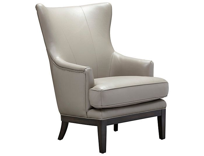 Admirable Como Wing Back Leather Accent Chair In 2019 Accent Chairs Gmtry Best Dining Table And Chair Ideas Images Gmtryco