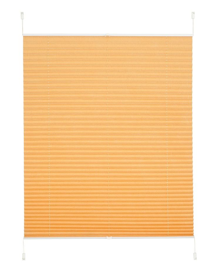 Das Plissee »Dahra« von my home bietet in seiner guten Qualität für jedes Fenster einen optimalen Sonnenschutz. Der Klemm-Plissee-Faltenstore passt sich gut in vielen Räumen in das Ambiente ein. Dabei eignet sich das Rollo nicht nur zur Verdunkelung. Es bietet einen stilvollen Sichtschutz oder fungiert einfach als dekorativer Blickfang. Die glatte Oberfläche von dem Klemm-Plissee und das Materi...