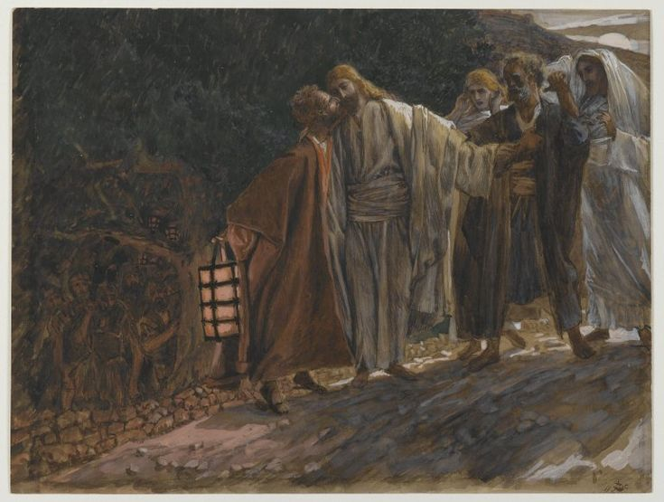 The Kiss of Judas (James Tissot)James Of Arci, The Kisses, Kisses, Tissot The Kisses Of Judas, Jesus, A Kisses, Bible Pictures, De Judas, James Tissot