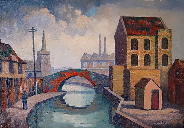 Canal Mile End East London Art Art Irish Art London Art