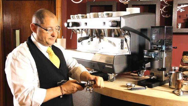 Como hacer la limpieza diaria de tu Máquina de Café Espresso Rancilio (+...