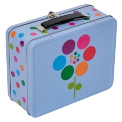 Bobble Art Tin Suitcase - Flower
