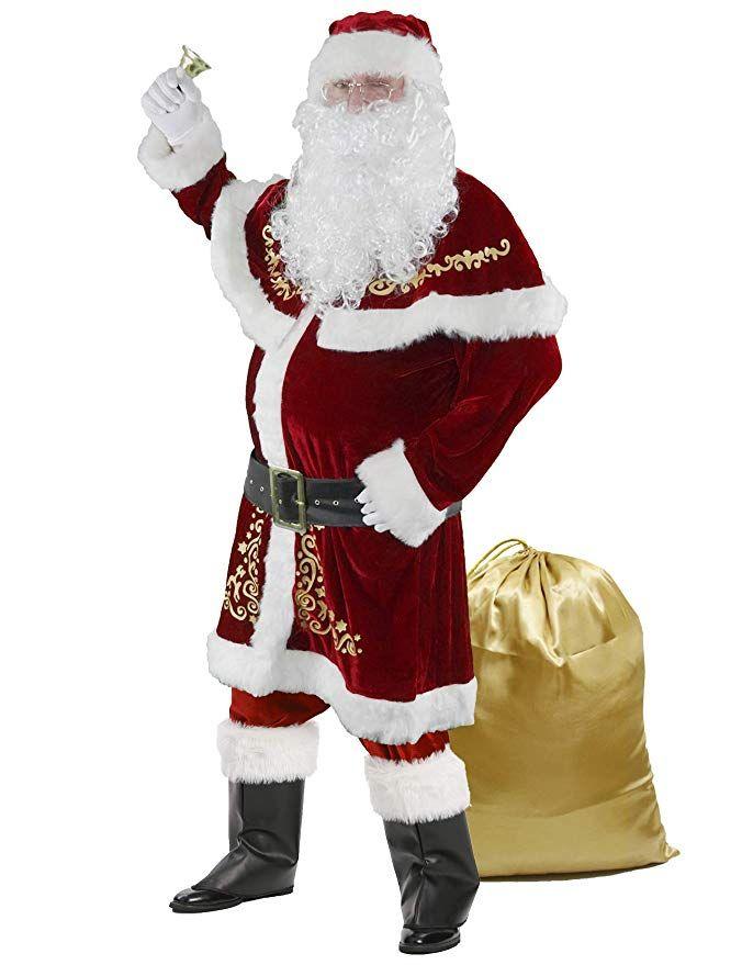 Top 10 Best Santa Costume For Men Reviews In 2020 In 2020 Santa Costume Santa Suits Santa Claus Suit