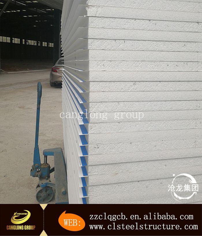 Sandwich Panel Paneling Steel Structure Henan