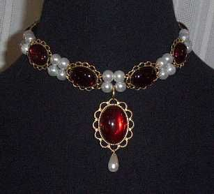 Sapphire & Sage - Renaissance & Medieval Necklace Collection