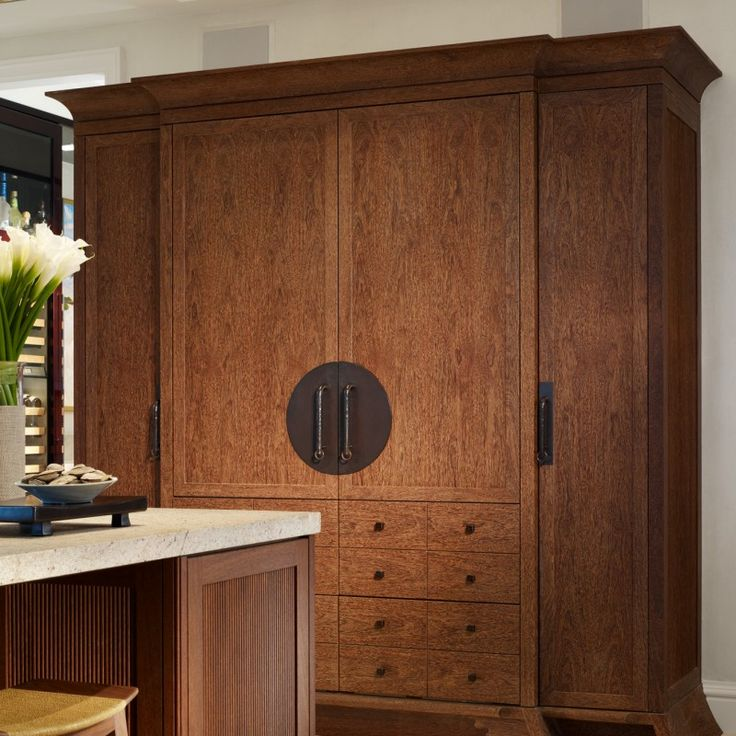 Top 25 Ideas About Mahogany Or Teak Kitchen Cabinets On Pinterest San Diego Wood Cabinets And